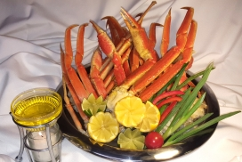 Thunder Beach Special-Seafood- Snow Crab Claws Boars Head Restaurant PCB (19)