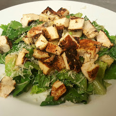 Early Bird Special Chicken Caesar Salad Boars Head Restaurant PCB