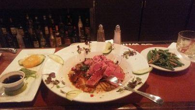 tunepper Seared Tuna Boar's Head Restaurant PCB