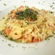 Shrimp Scampi Early Bird Special Boars Head Restaurant PCB