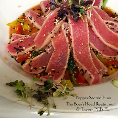 Ahi Tuna-The Great Hall-Boars Head Restaurant PCB