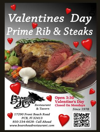 PCB Valentines Day-Boars Head Restaurant