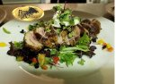Duck Breast with Baby Greens Boars Head Restaurant PCB